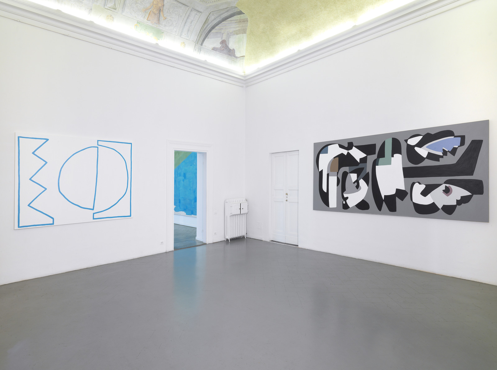 6.Installation View, Stephen Felton, Tamina Amadyar, Hayal Pozanti. Courtesy of Eduardo Secci Contemporary