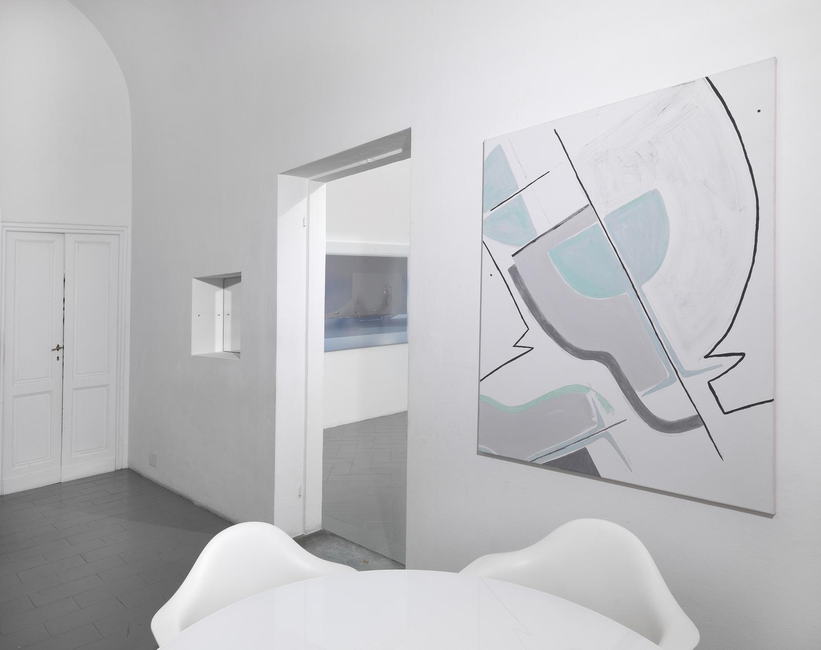 9.Installation View. Joshua Citarella, Zoe de Soumagnat. Courtesy of Eduardo Secci Contemporary