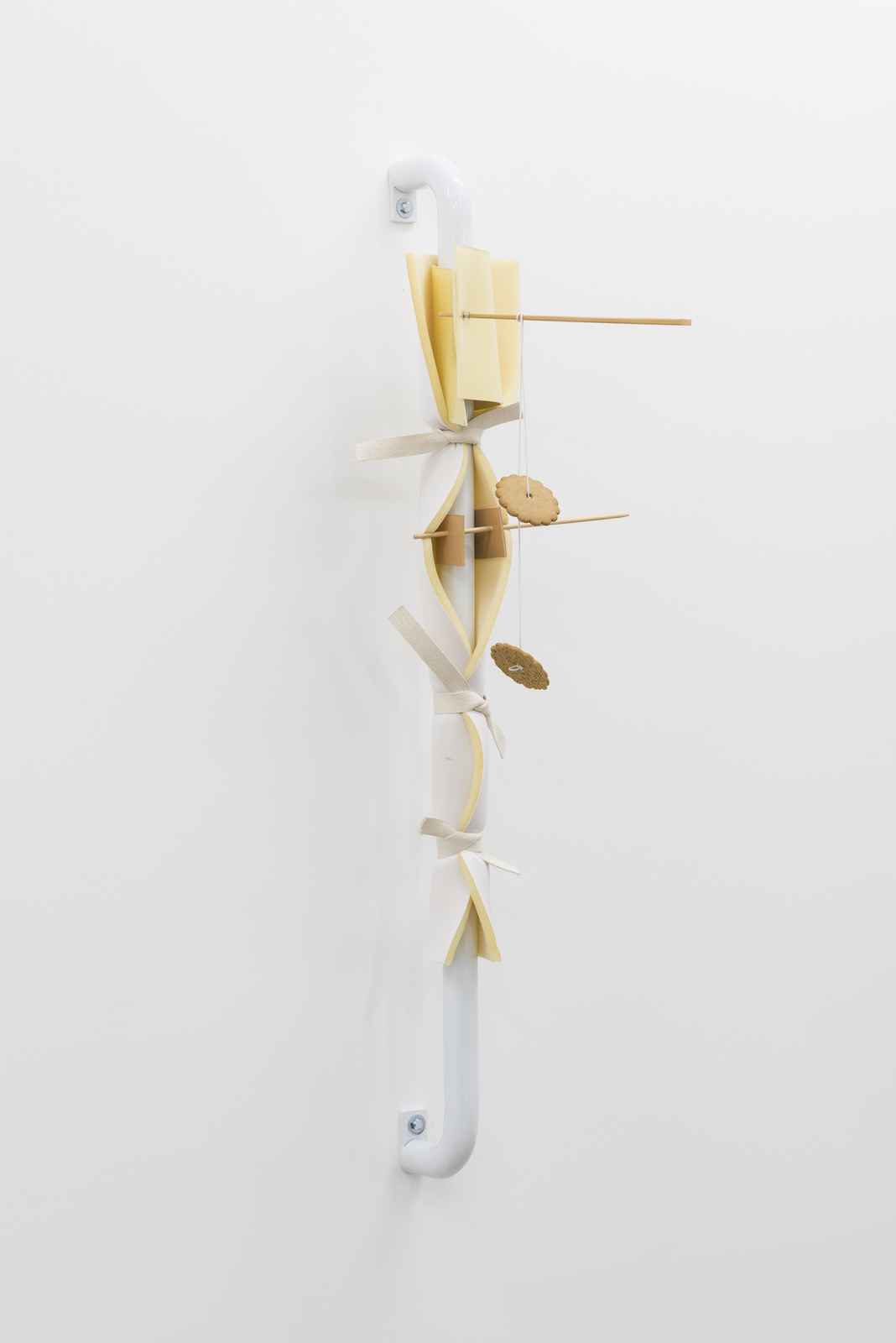 Vanessa Safavi, No Omelette Without Breaking Eggs (Holding Substitute IV), 2016 (3)