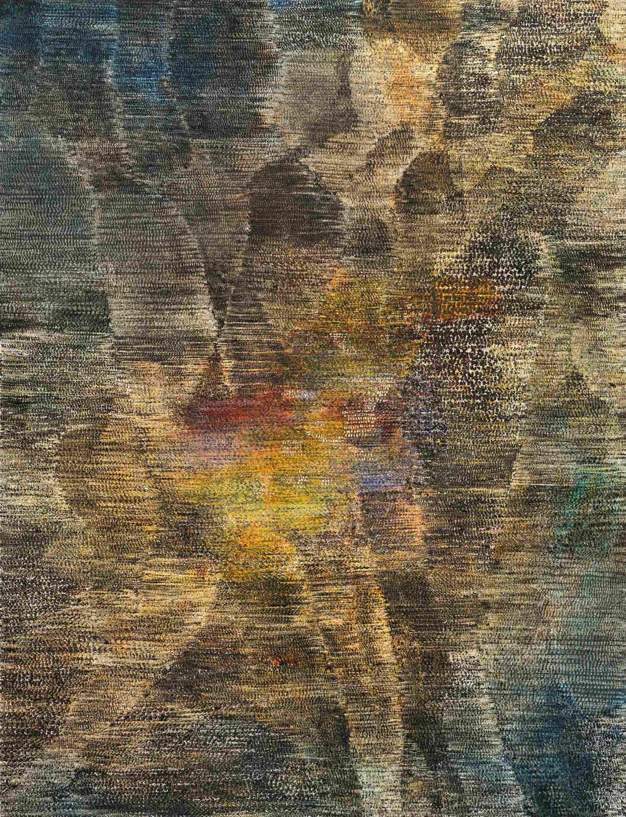 19_Guggisberg, Stefan_Wärme_2015_oil on paper_65 x 50 cm