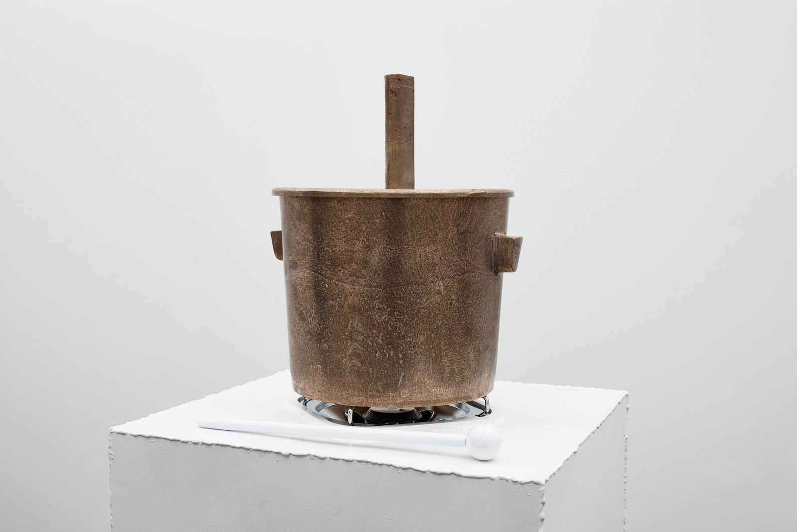 Franz West - Caldare ( A mobile stove sculpture object) Detail, 1991