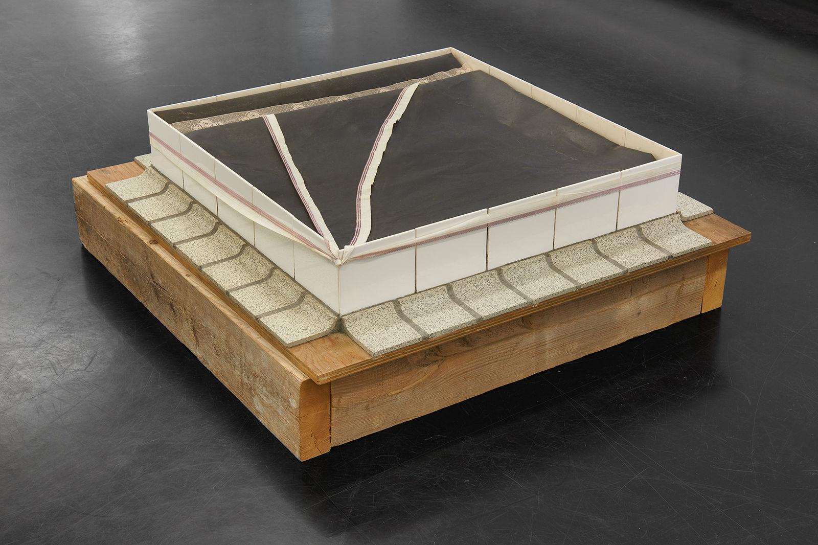 Ger van Elk_Piece Made in One Hour_1968_Markus Luettgen Gallery_View_2