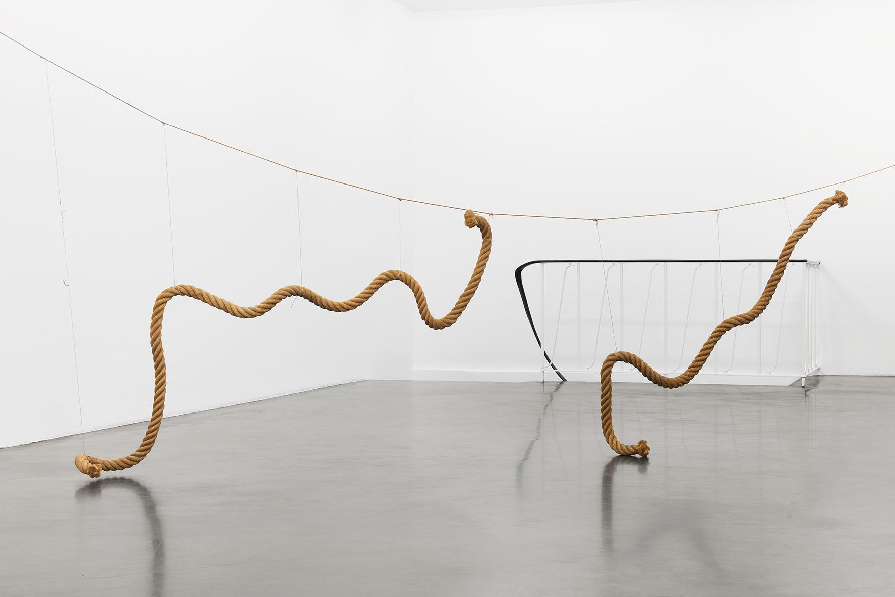Ger van Elk_Rope Sculpture_1968_Markus Luettgen Gallery