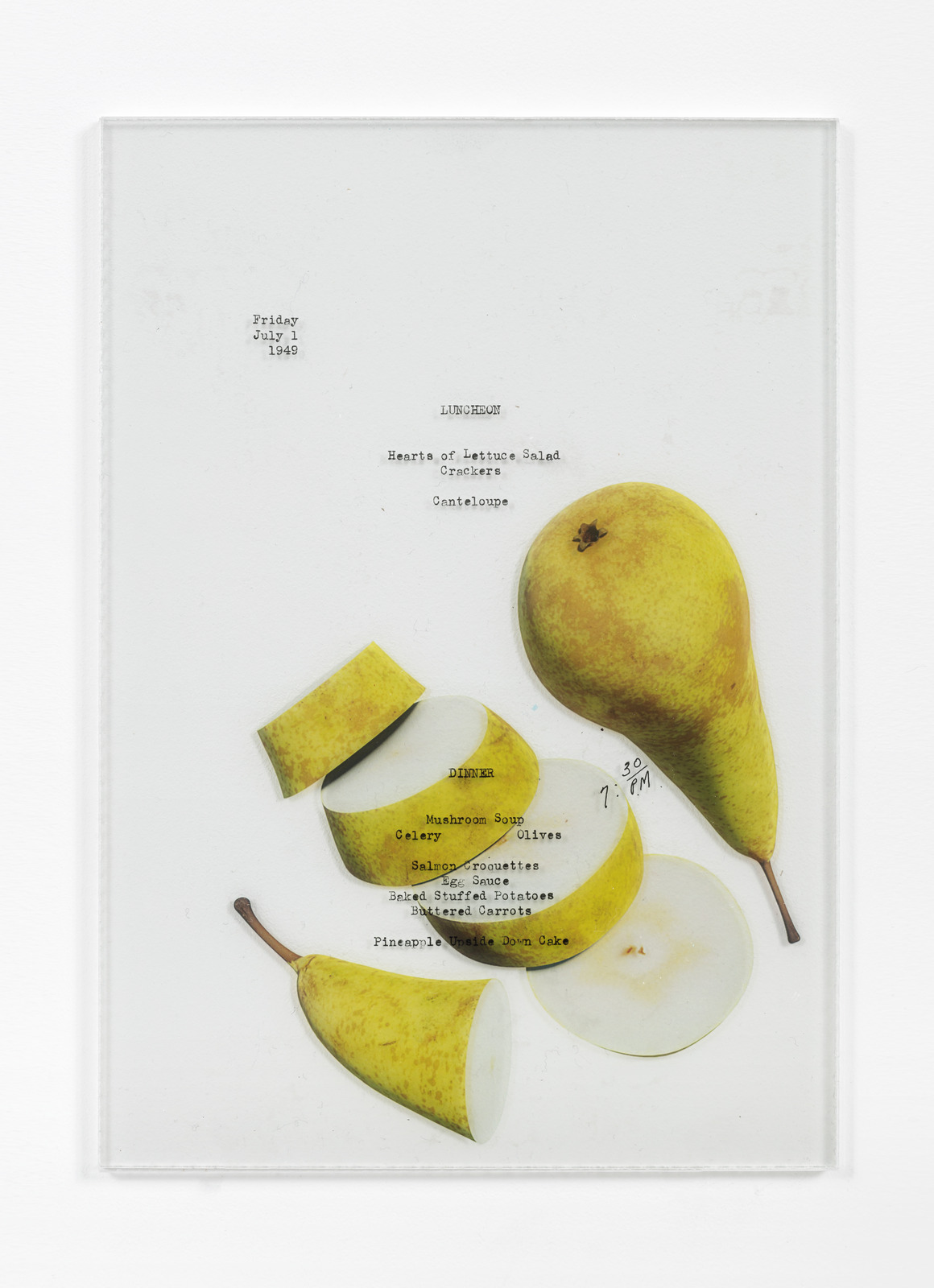 VI, VII-Benjamin Crotty-Menu No 1-15-2016-Photo by Vegard Kleven-Courtesy of VI, VII, Oslo9