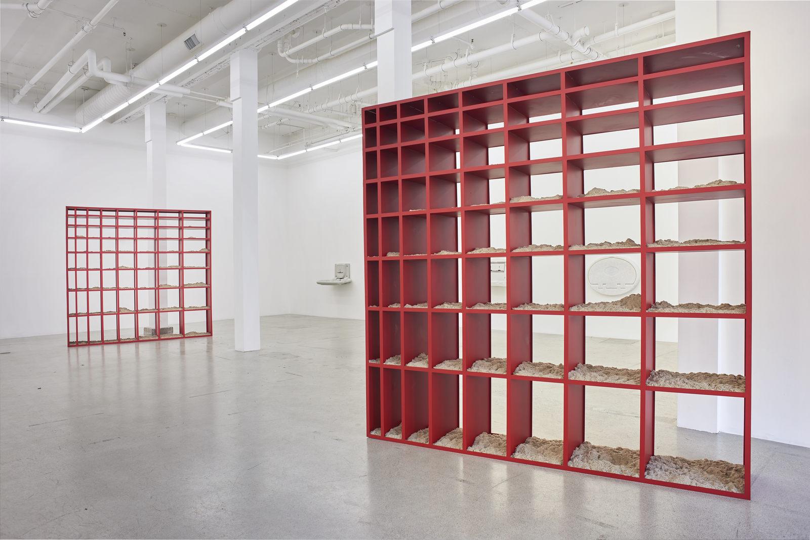 Wermers_Grundstück, 2017_Jessica Silverman Gallery_installation view_021