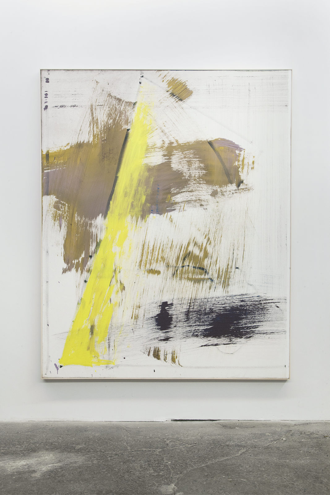 03_Jean-François Lauda. Untitled 35. Acrylic on canvas 193 x 152.5 cm. 2016