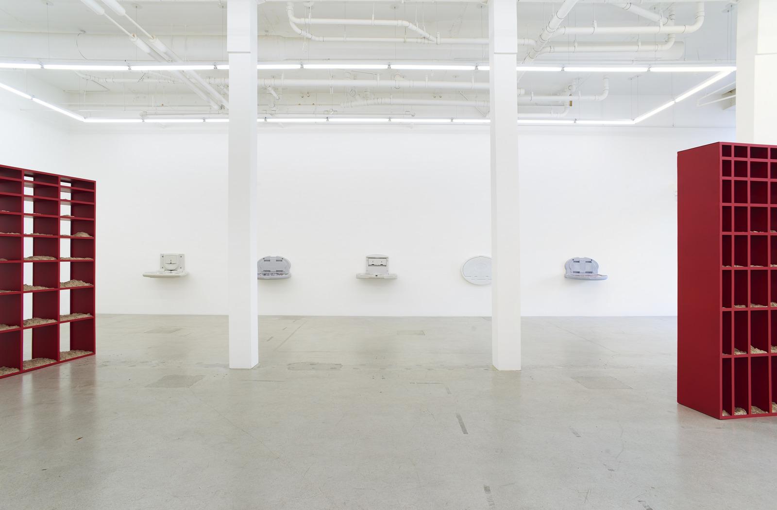 Wermers_Grundstück, 2017_Jessica Silverman Gallery_installation view_013