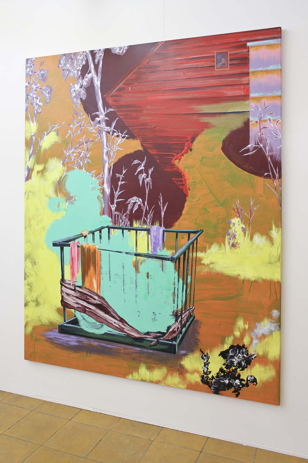 Gé-Karel van der Sterren at Flatland Gallery, Amsterdam 01