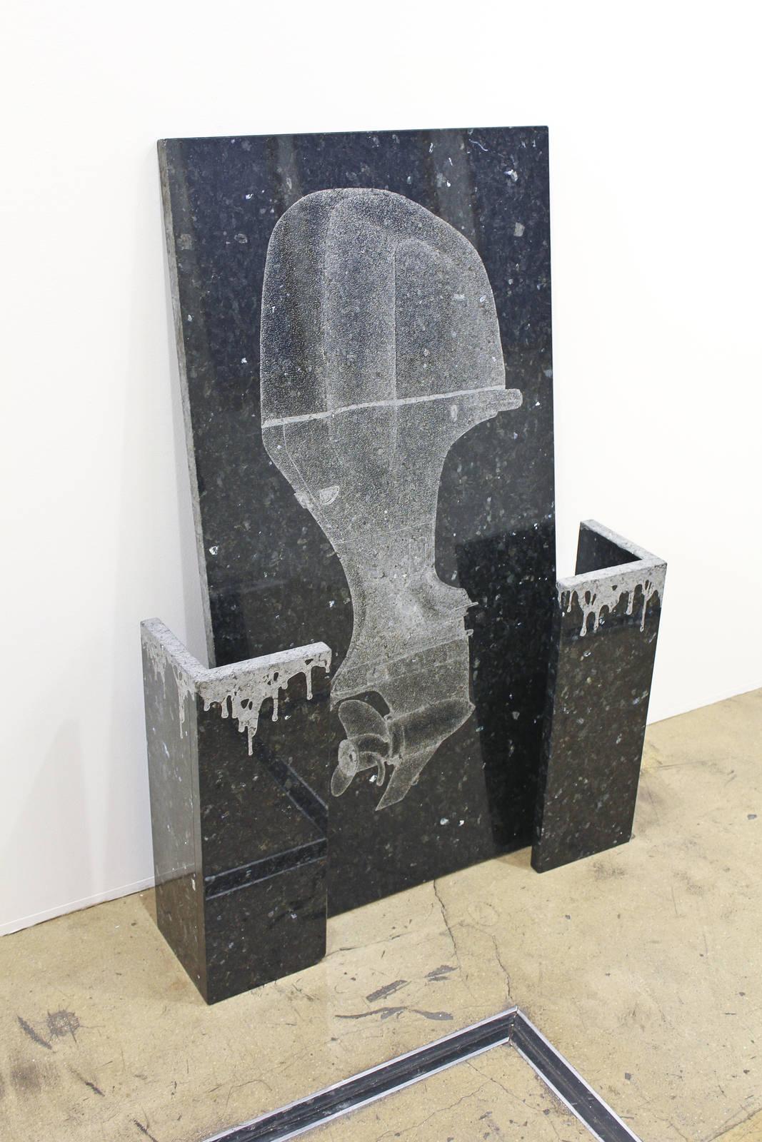Balz Isler at Galerie Conrandi, Hamburg 01