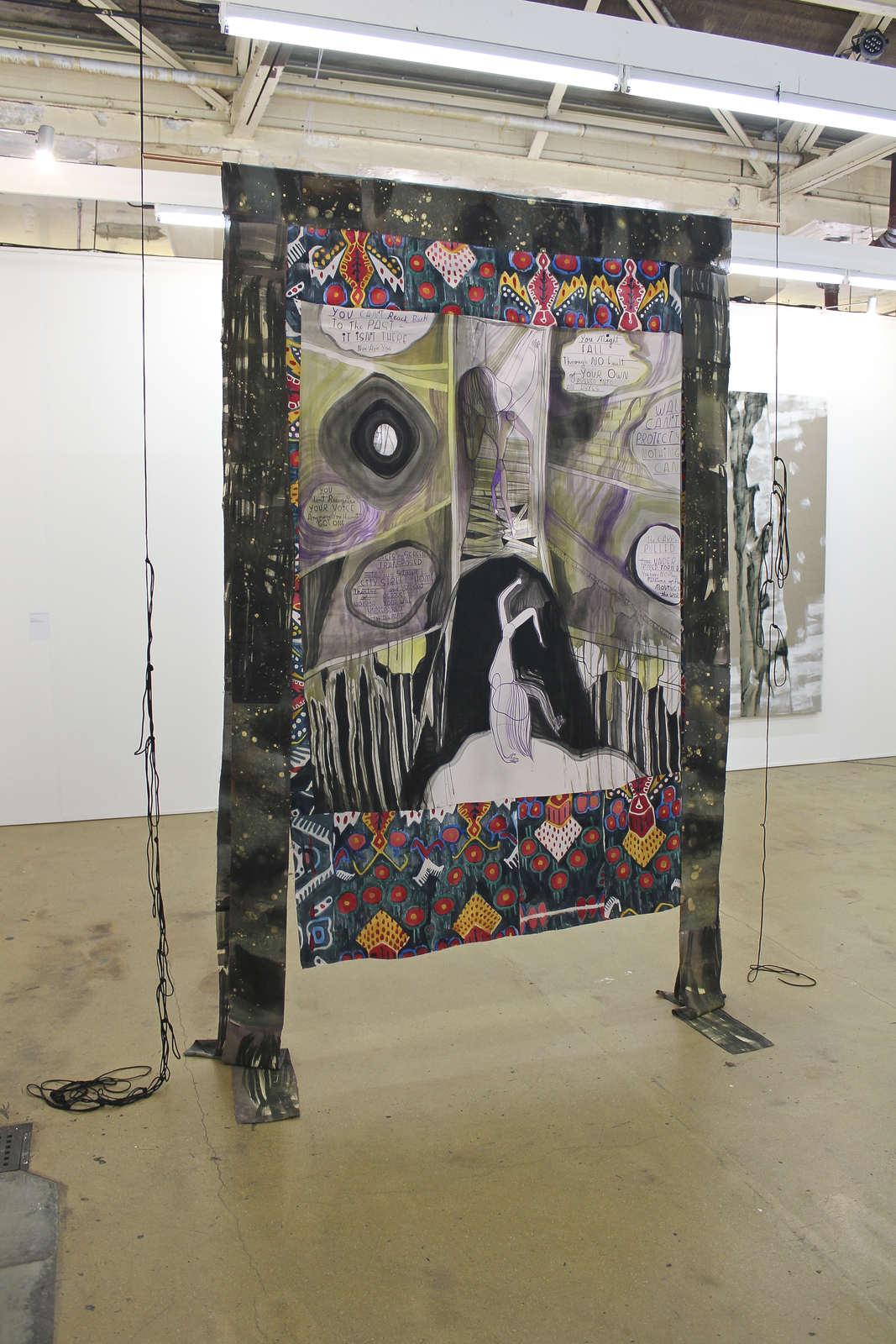 Emma Talbot at Galerie Onrust, Amsterdam 01
