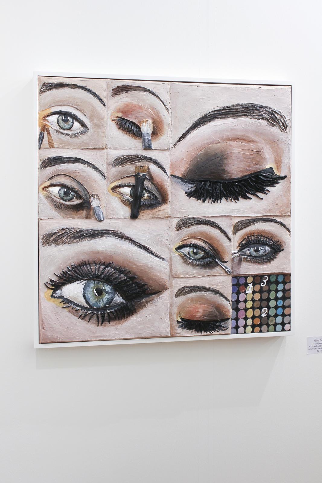 Gina Beavers at GNYP Gallery, Berlin 01