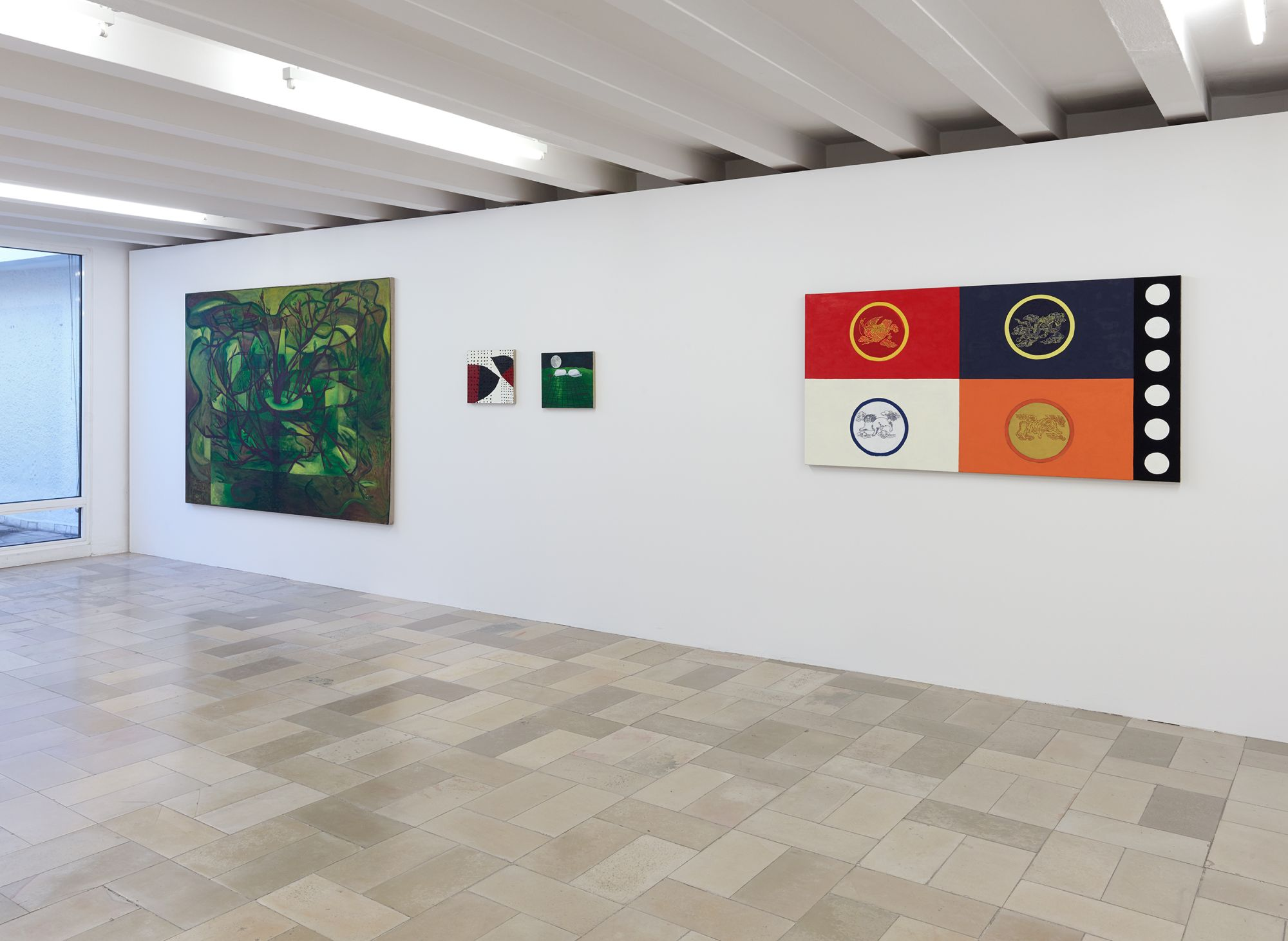 Installation view, Leidy Churchman - Free Delivery, Kölnischer Kunstverein 2017_Photo Simon Vogel_61_web