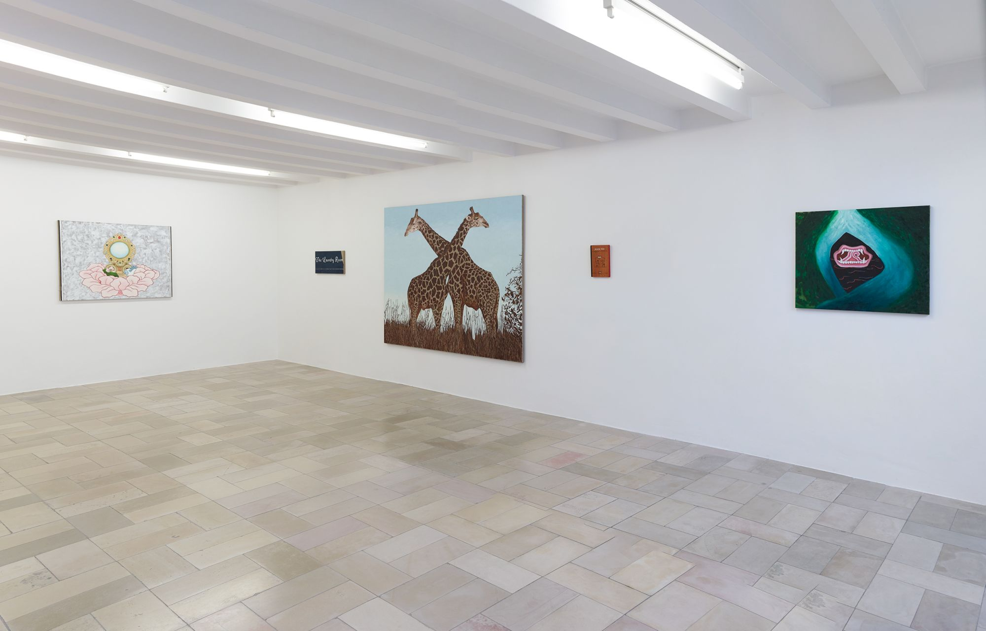 Installation view, Leidy Churchman - Free Delivery, Kölnischer Kunstverein 2017_Photo Simon Vogel_63_web