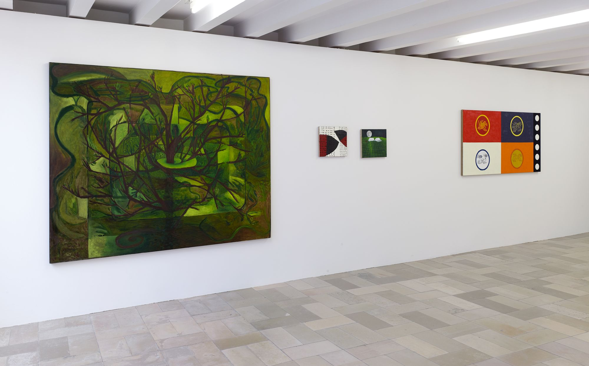 Installation view, Leidy Churchman - Free Delivery, Kölnischer Kunstverein 2017_Photo Simon Vogel_58_web