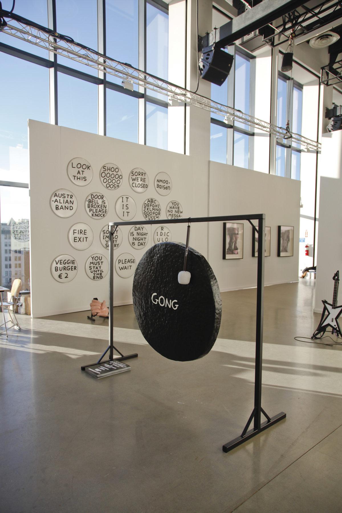 David Shrigley at Anton Kern Gallery 01