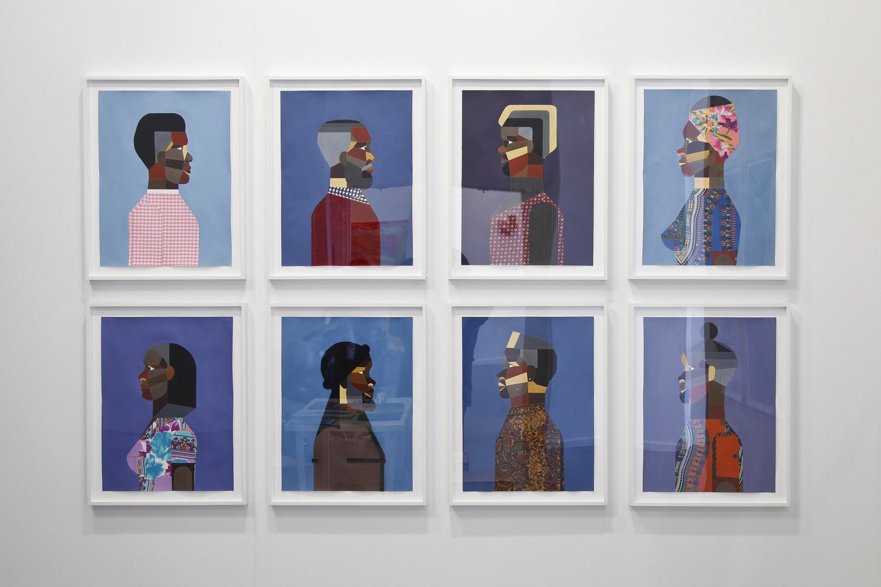 Derrick Adams at Tilton Gallery 01