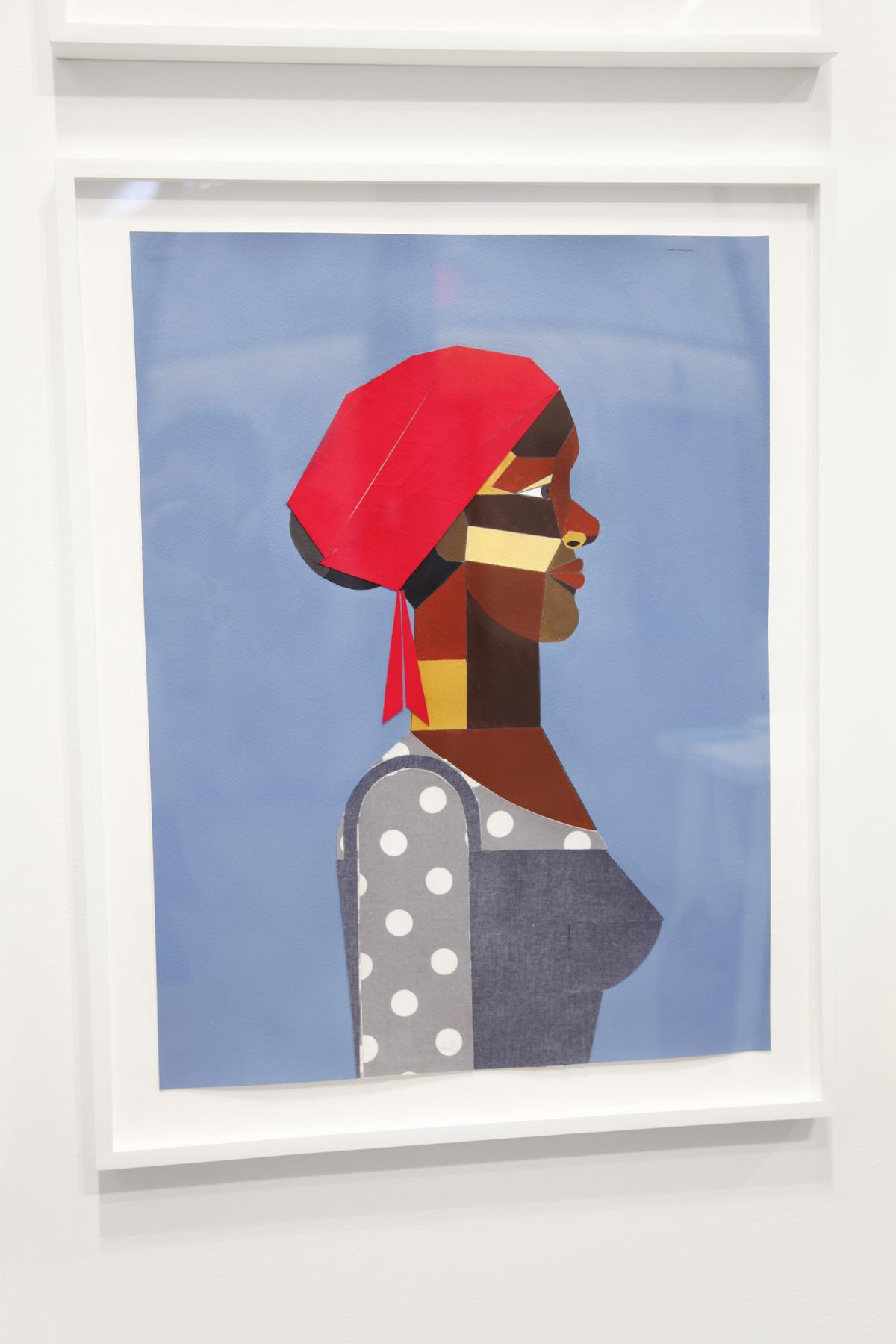 Derrick Adams at Tilton Gallery 02