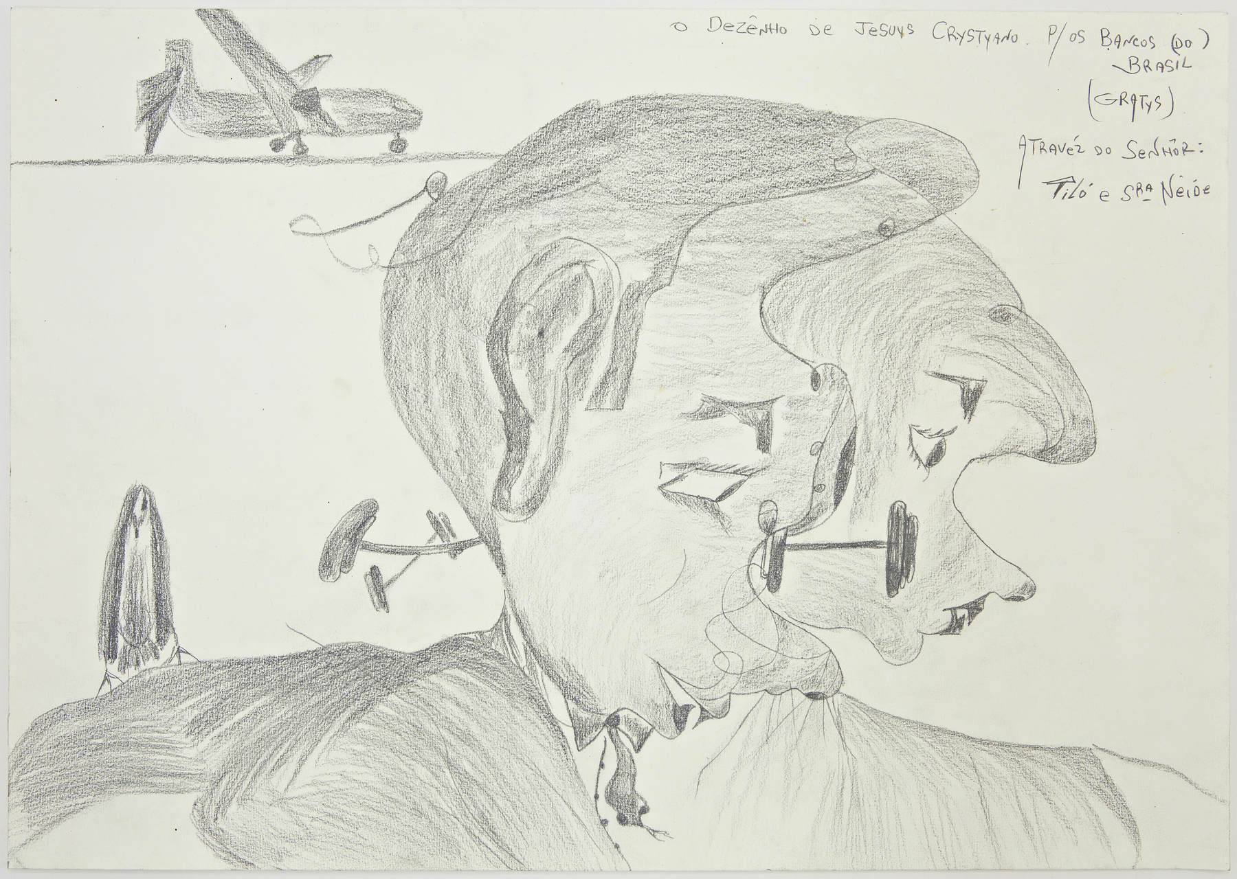 Jesuis Crystiano,Untitled,07_2012,Graphite on paper,42x59cm