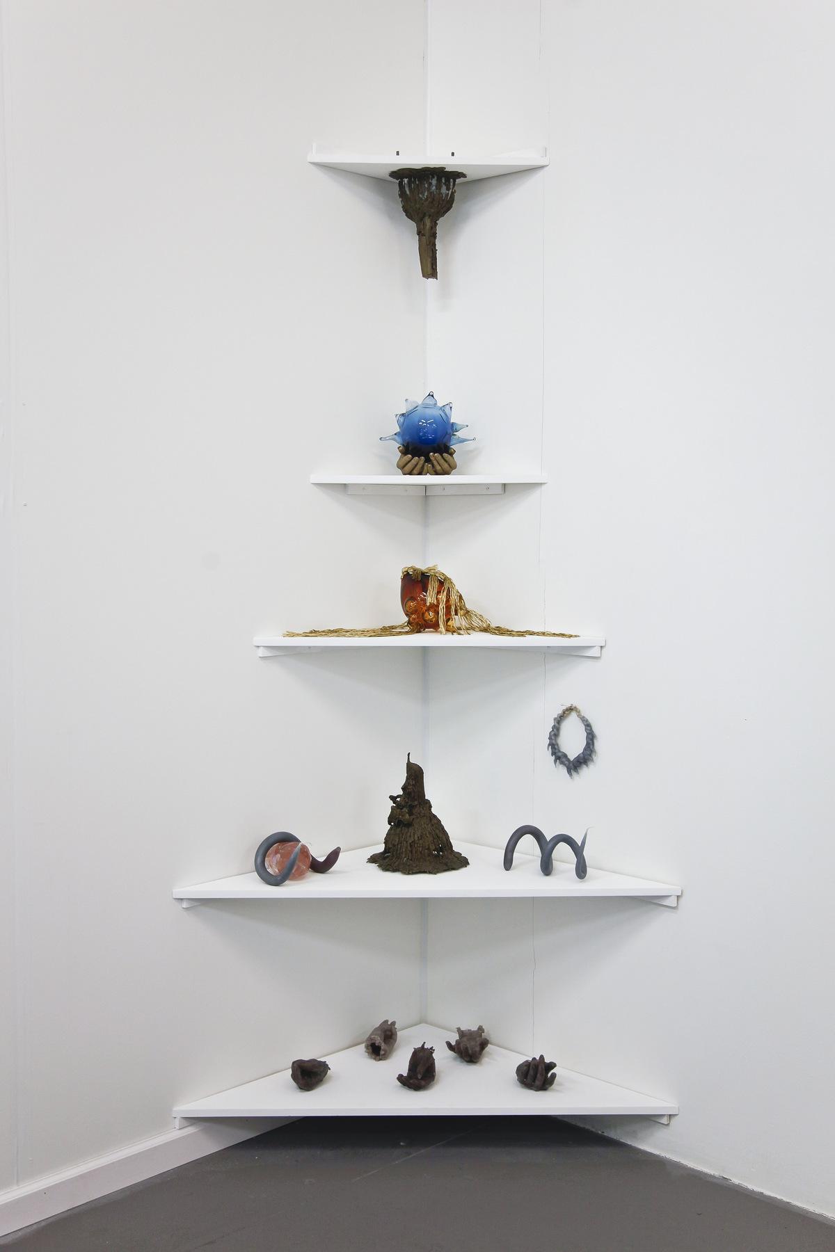 Kelly Akashi at Ghebaly Gallery 01