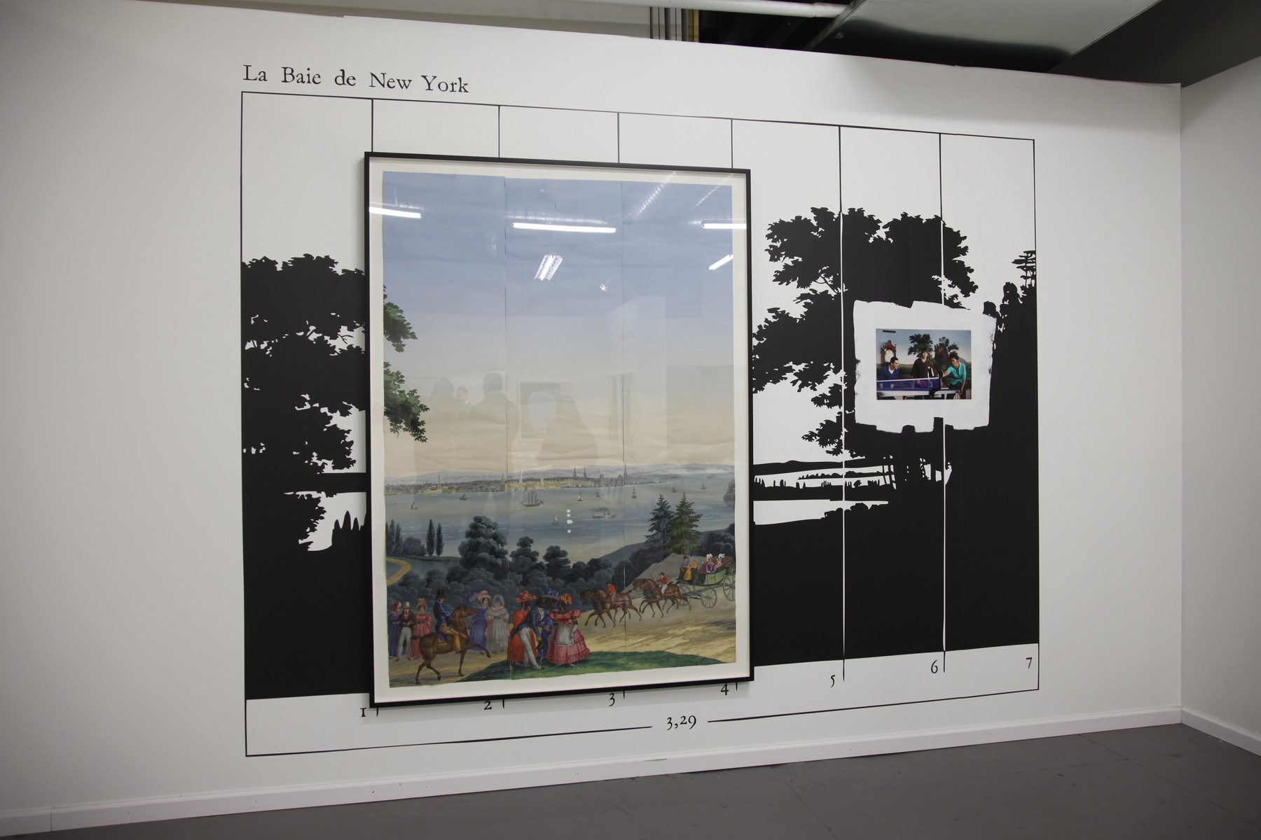 Thomas Bayrle at Galerie Mezzanin 01