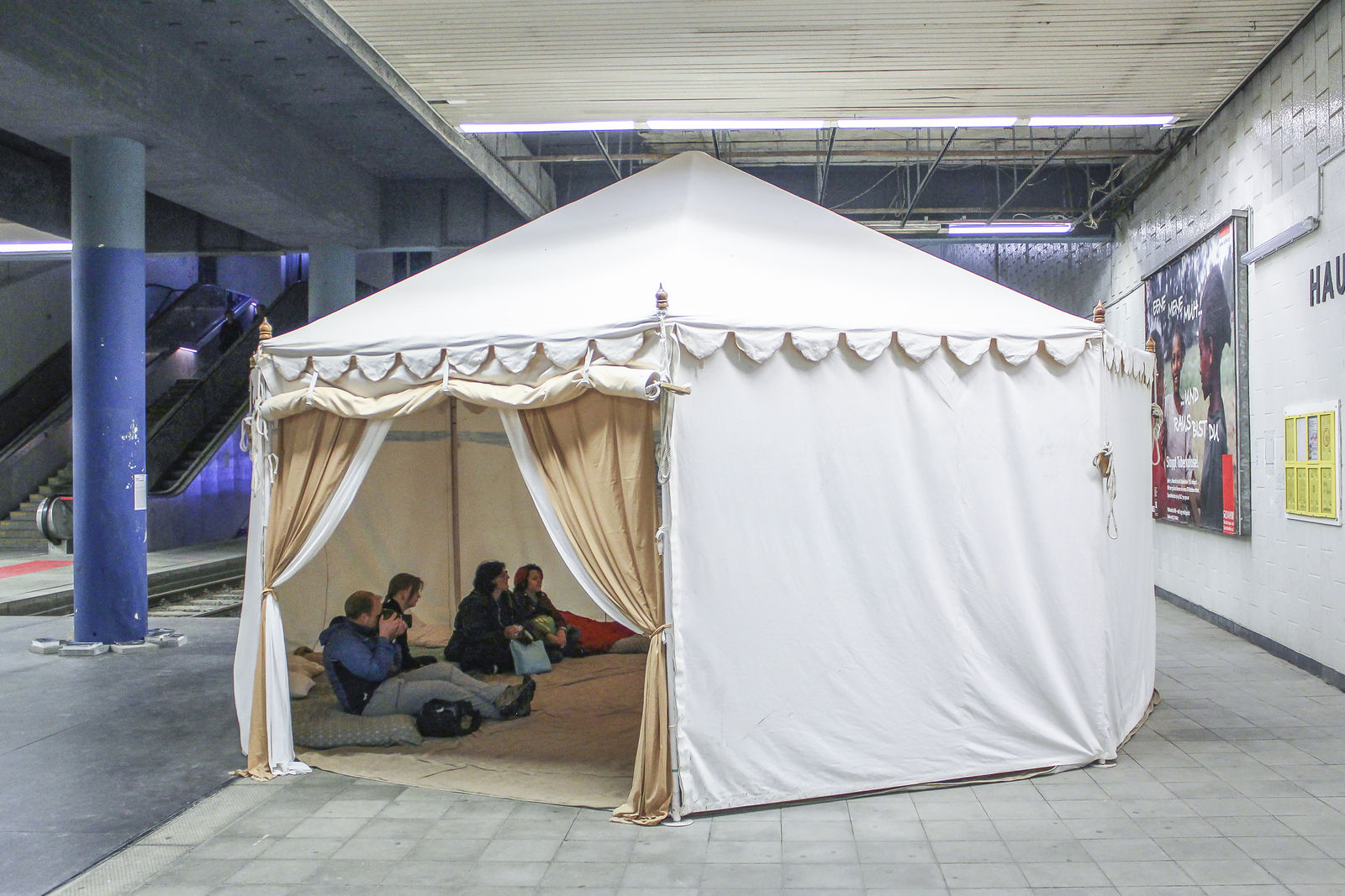Nikhil Chopra Drawing A Line Through Landscape 2017 Performanes Installation And Digital Video 50min. image number 1 of underground train tent ... & Underground Train Tent u0026 The London Underground Tube Tent Measures ...
