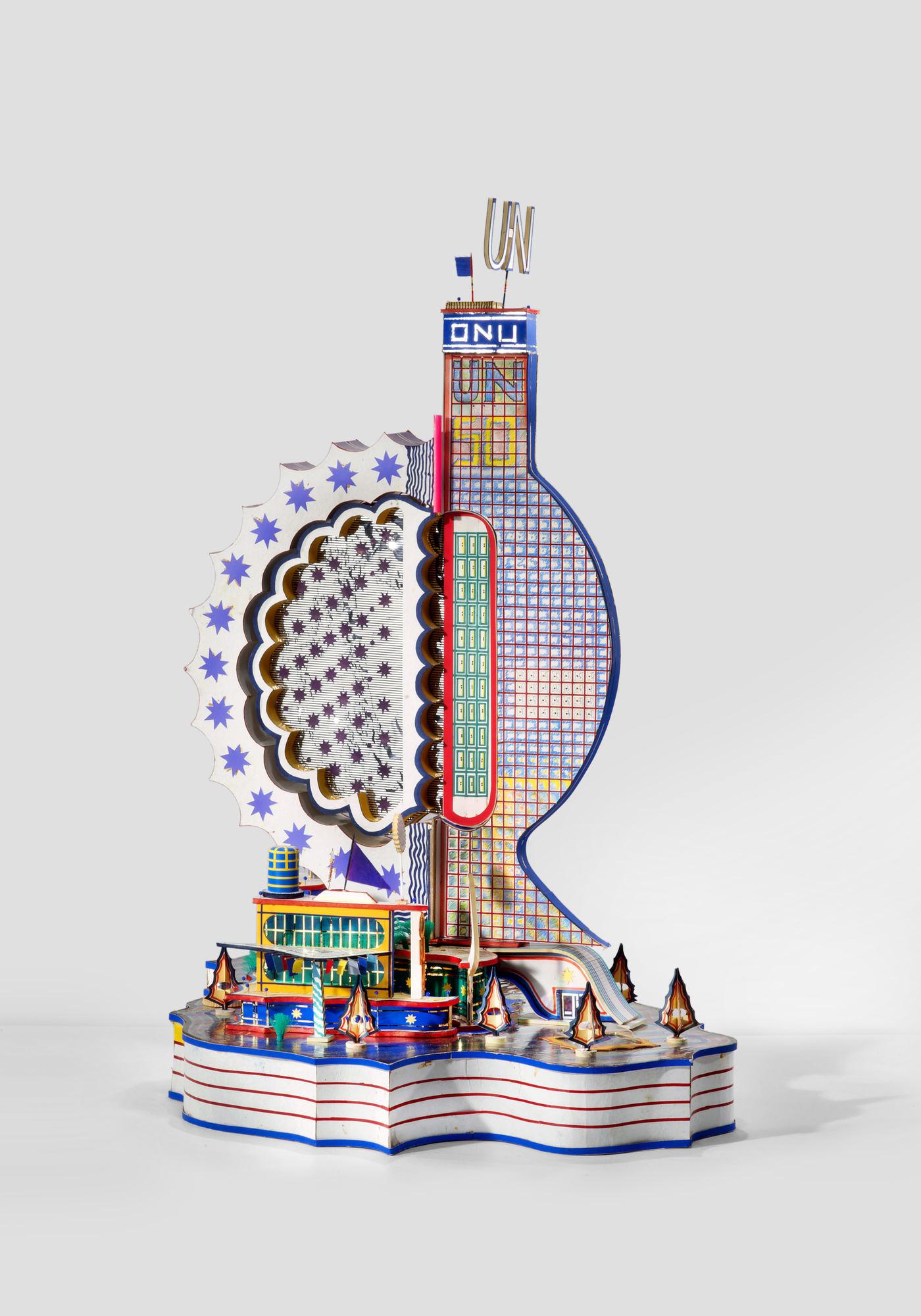Image result for bodys isek kingelez UN building piece