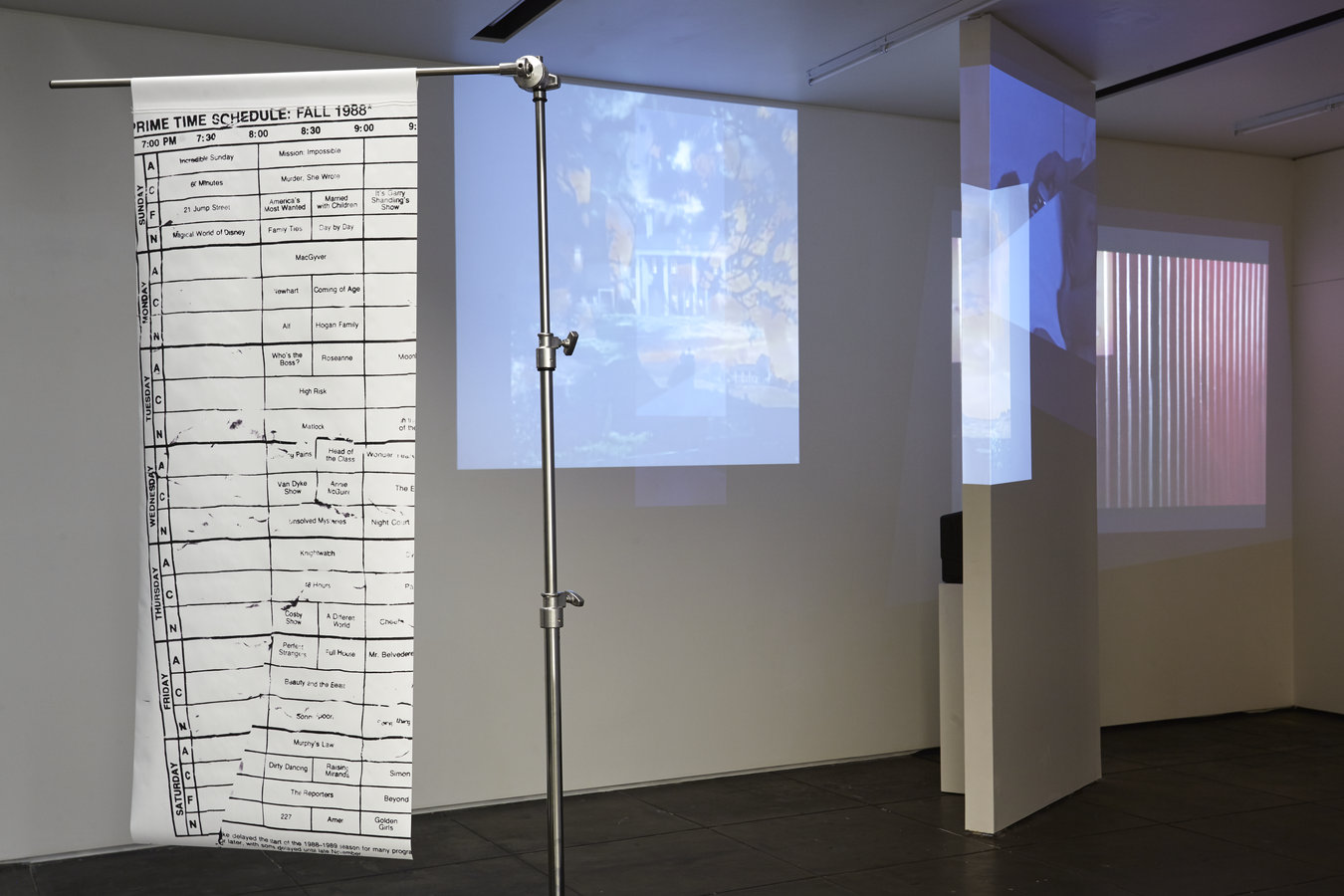 Installation view, Aran Cravey, Los Angeles, 2014.1
