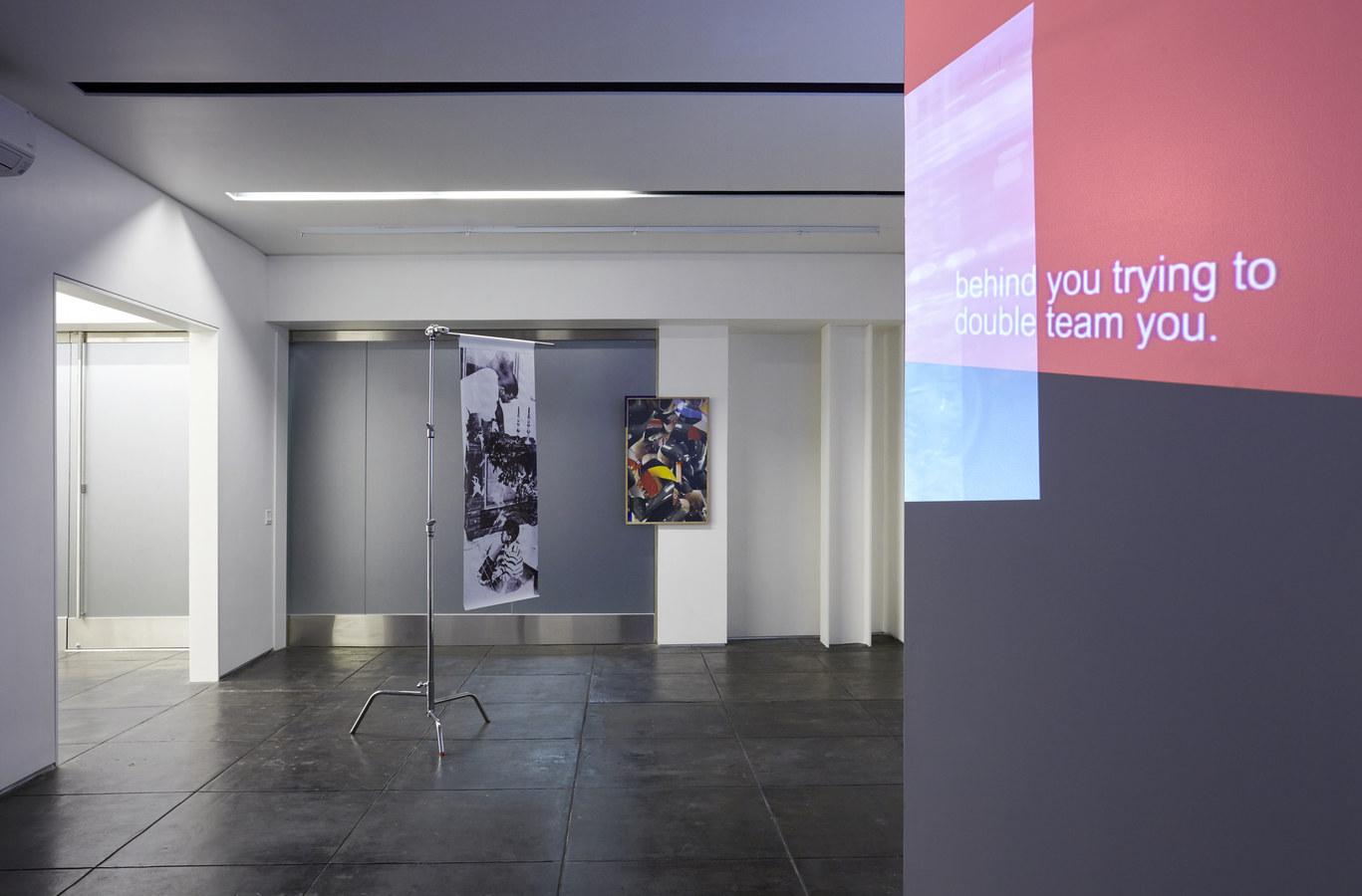 Installation view, Aran Cravey, Los Angeles, 2014.2