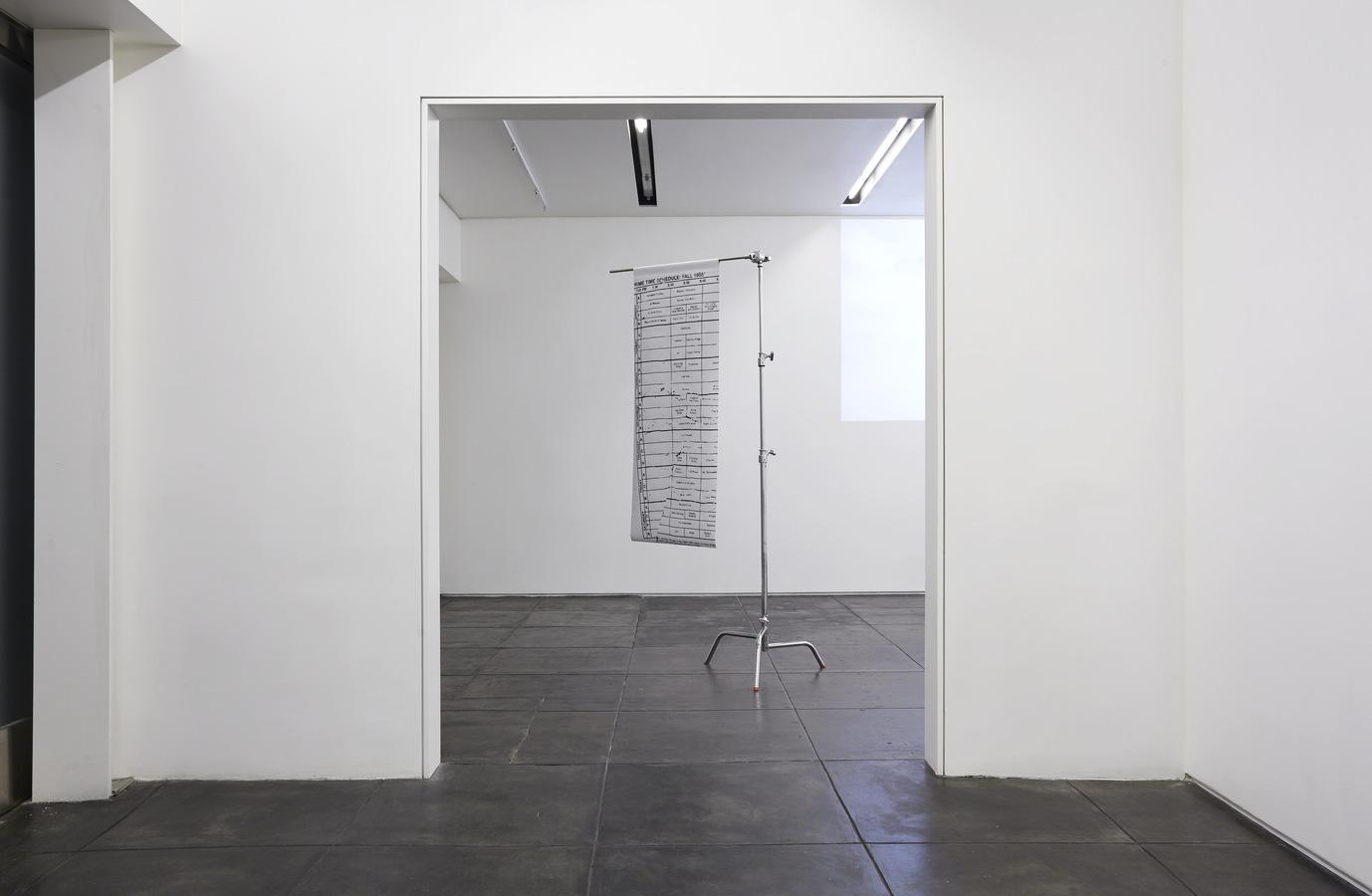 Installation view, Aran Cravey, Los Angeles, 2014.4