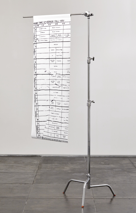 Martine Syms, Schedule Fall 1988, 2014, 01