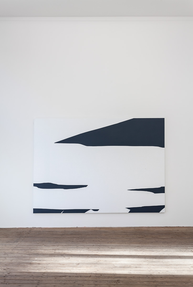 Installation view; Priscilla Tea, Air Manner, 2014; Three Rooms - Galerie Gabriel Rolt