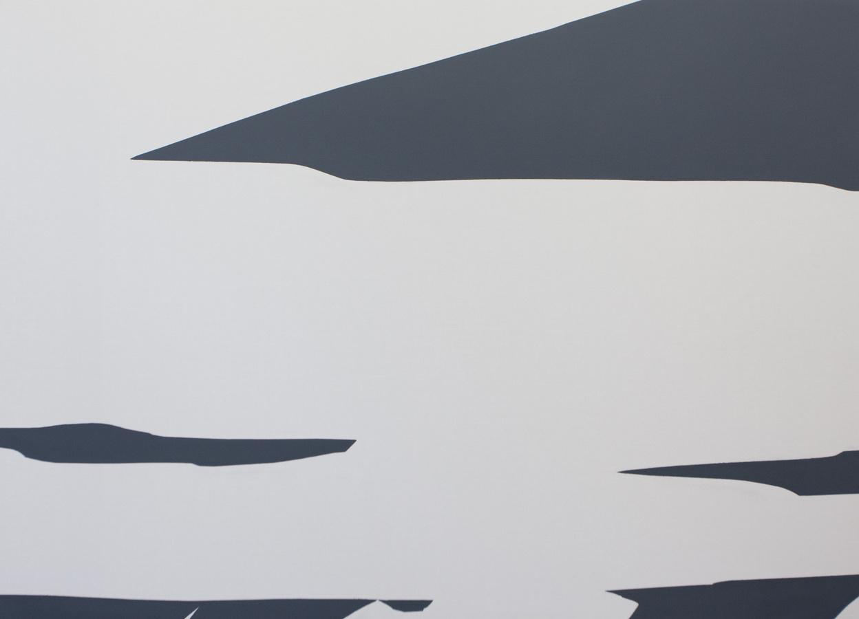 Priscilla Tea - air manner, 200x277cm, 2014; Three Rooms, Galerie Gabriel Rolt