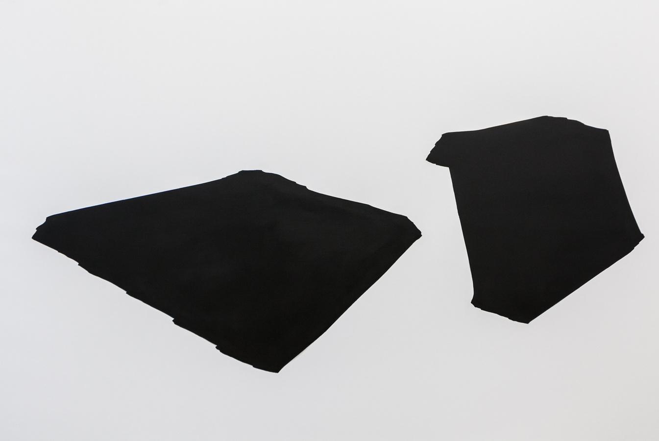 Priscilla Tea - lasting space, 200x300cm, 2014; Three Rooms, Galerie Gabriel Rolt