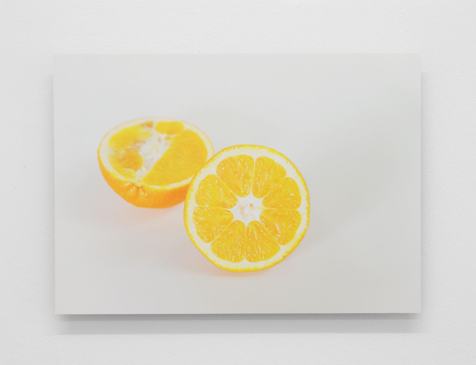 17 Orange Halves