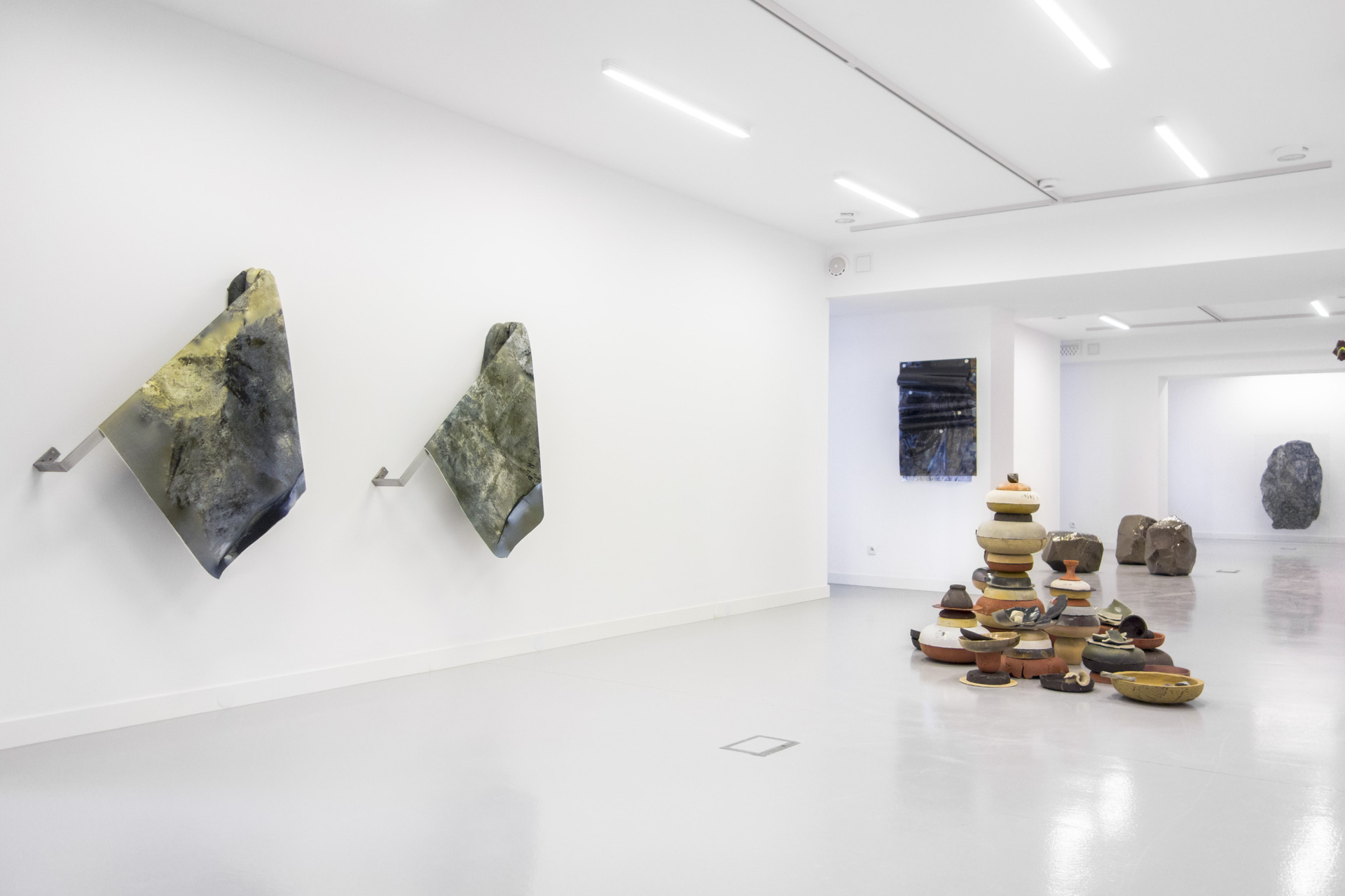 Thomas van Linge, Terra Inc., exhibition view1