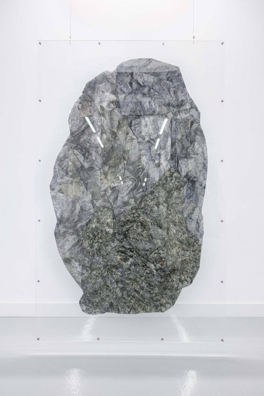 Thomas van Linge, W8 (Terra Firma), 2015, 160x100cm