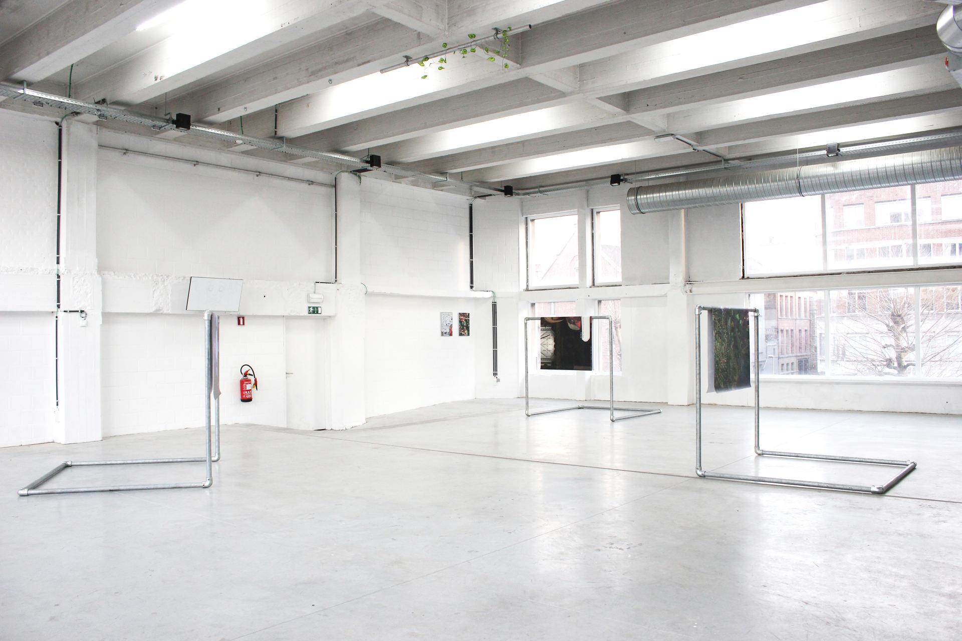 exhibition view, RESIDENCE EVIL