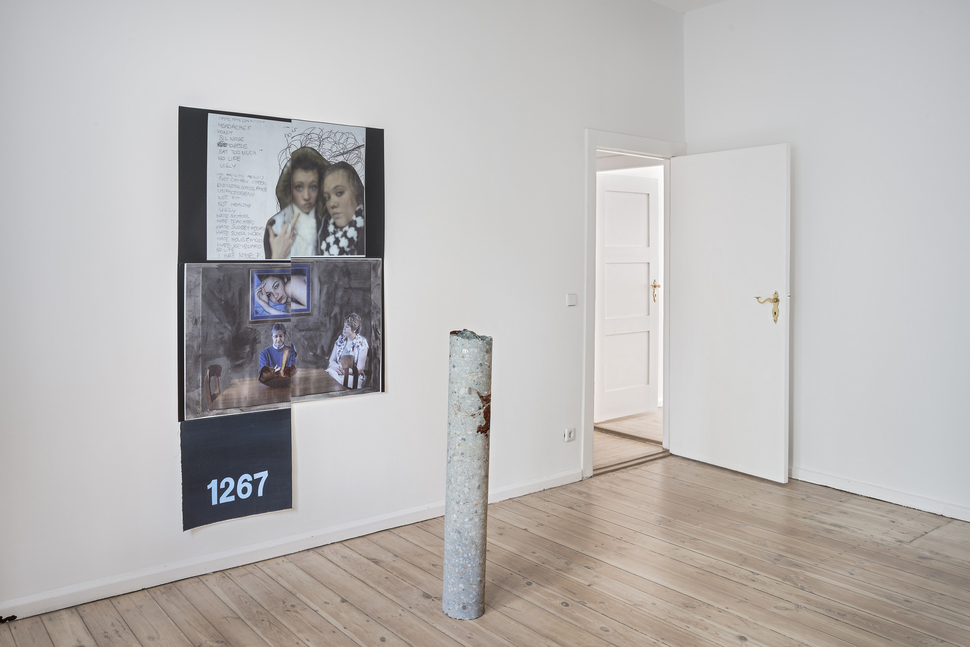 DB_Installation view_Softer Than Stone And Sick in your Mind_2015_Photo Credit_Joachim Schulz_Courtesy_Croy Nielsen_2