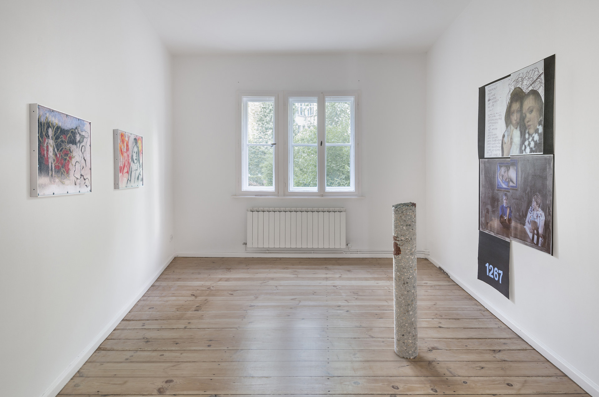 Installation view_Softer Than Stone And Sick in your Mind_2015_Photo Credit_Joachim Schulz_Courtesy_Croy Nielsen