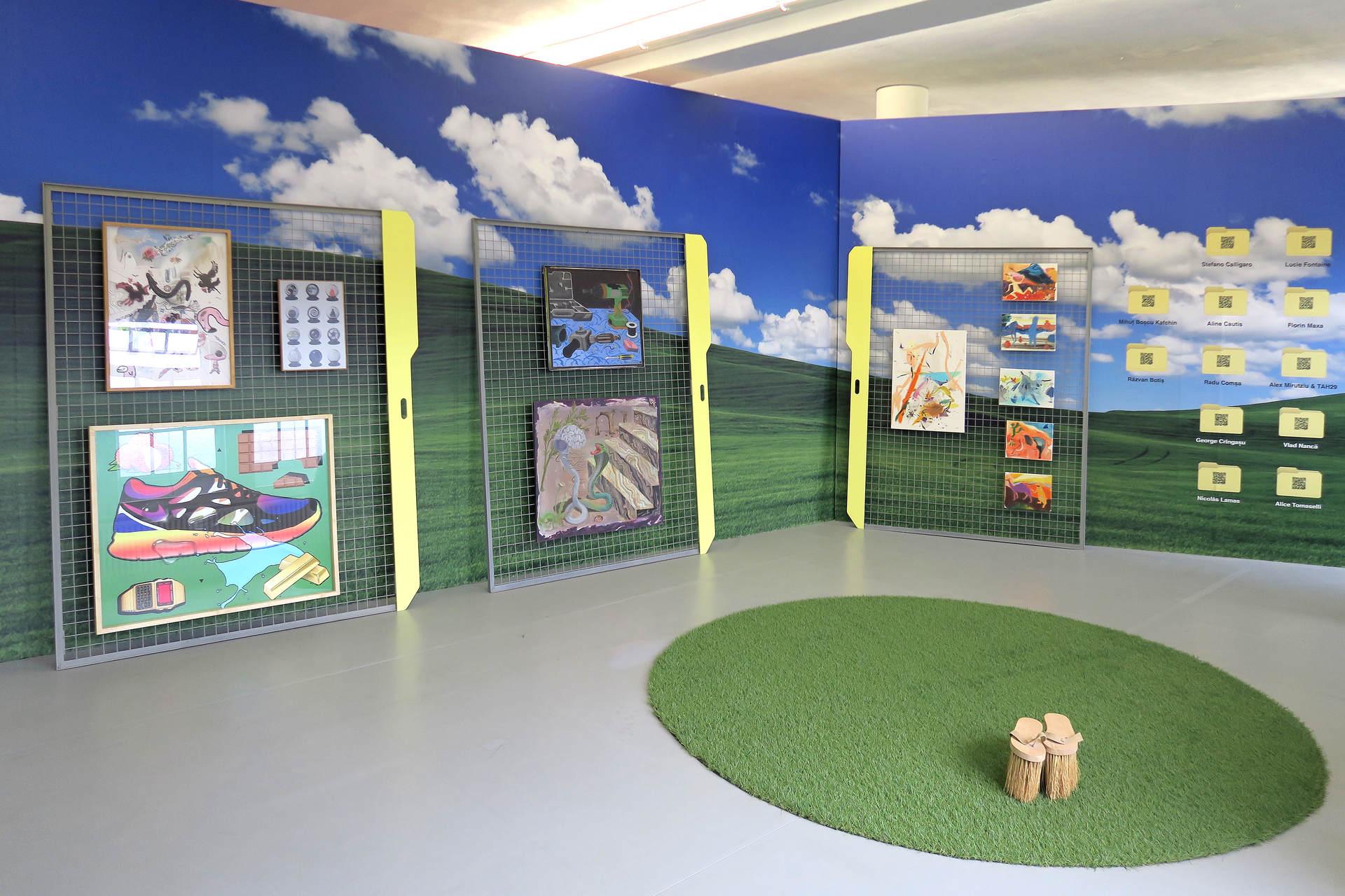 1. installation view, SABOT, Liste 2015