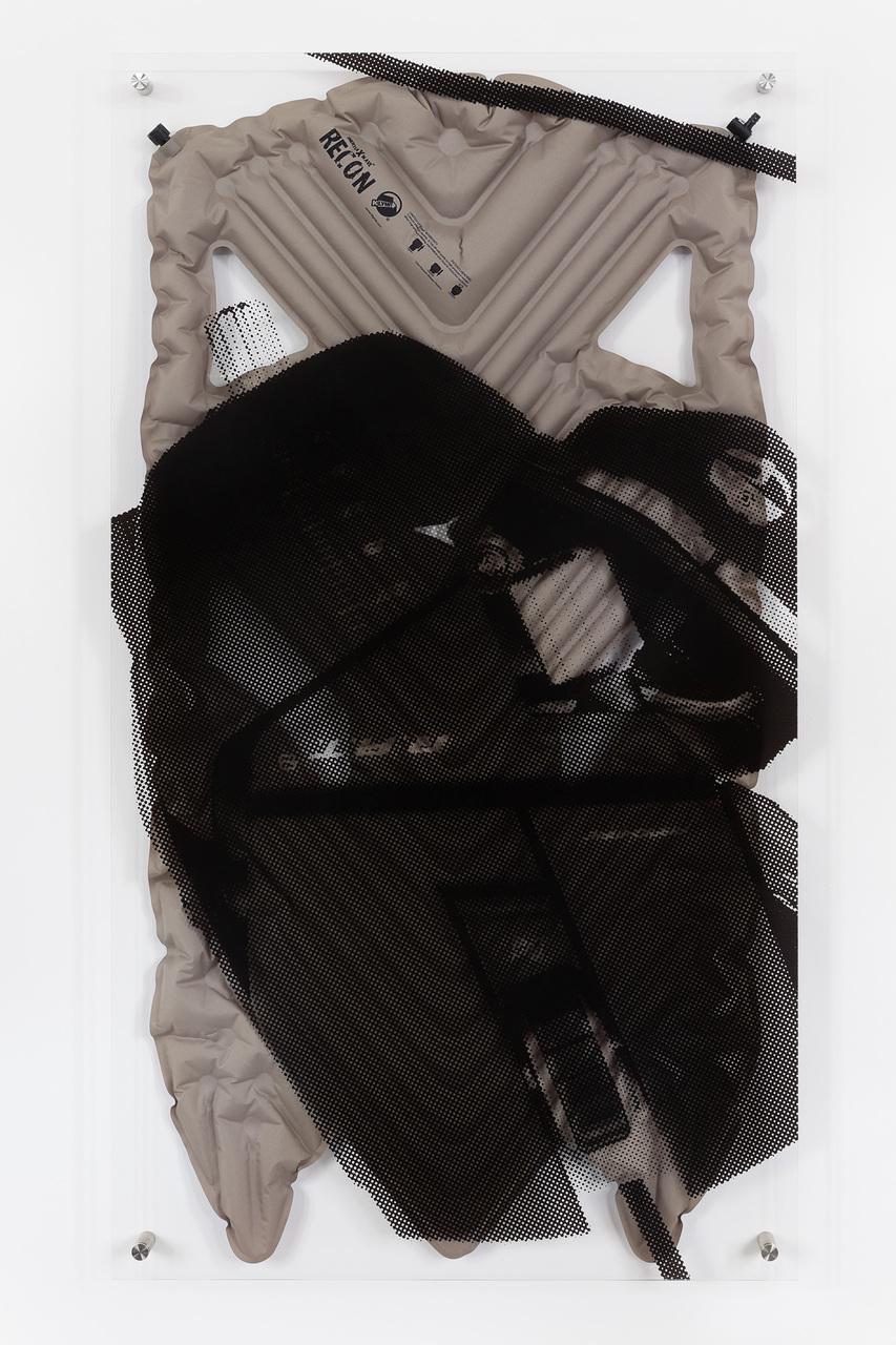 Interia X Wave Revon, 2015, C-print on acrylic glass, synthetic fiber, steel