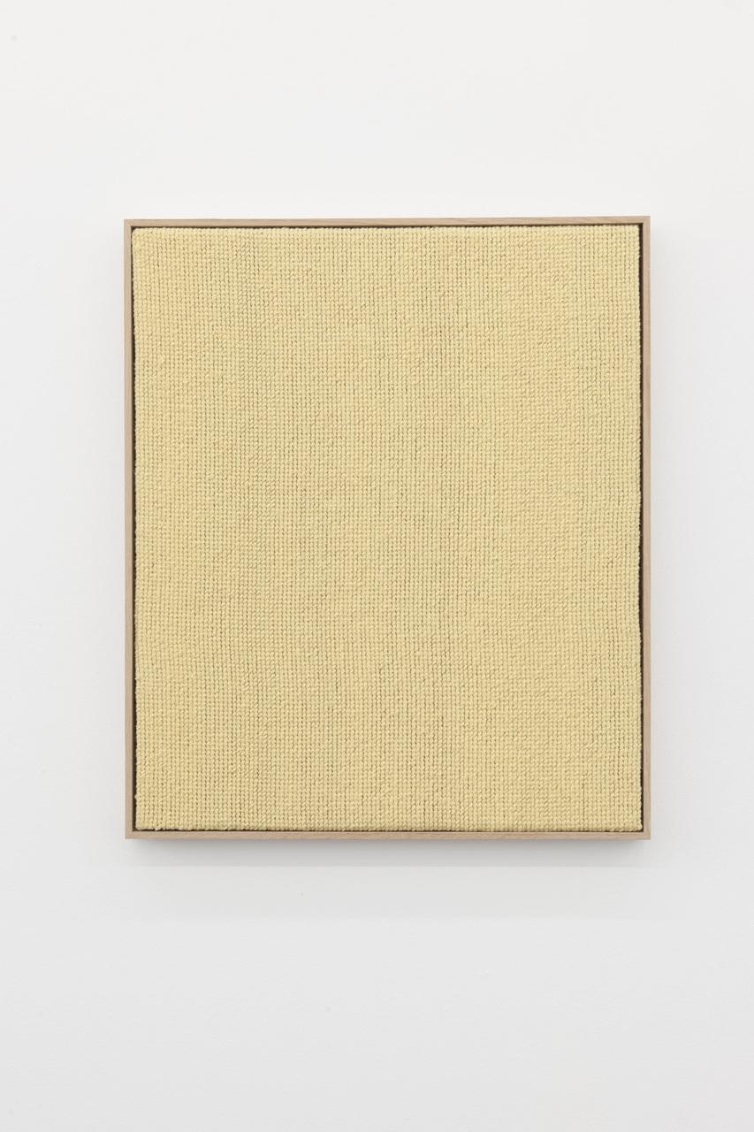 Alek O_2013_Yellow_87.5x72cm_embroidery on canvas, framed_2015-ao-08