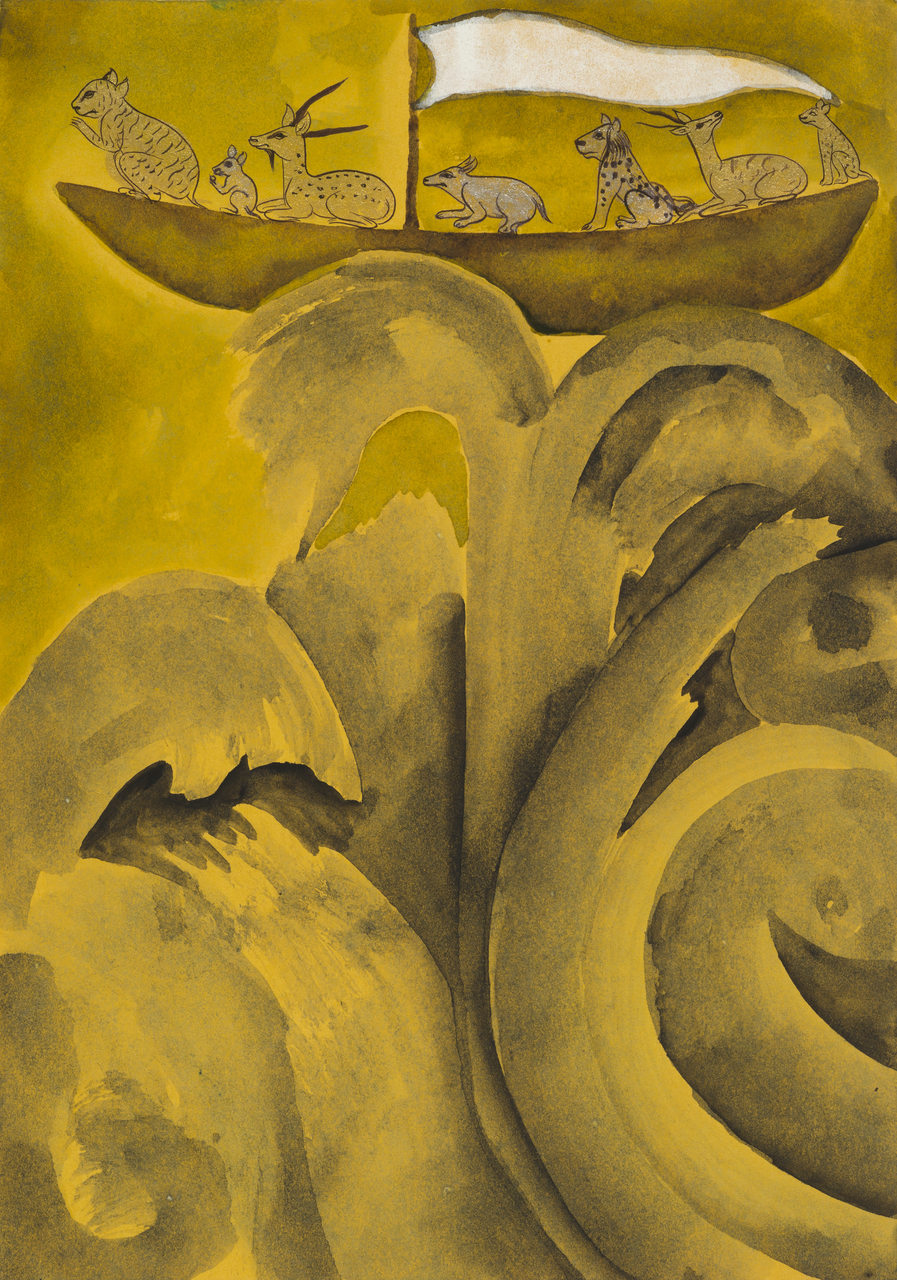 Francesco Clemente, Emblems of Transformation 12, 2014, Image courtesy the artist and BlainSouthern