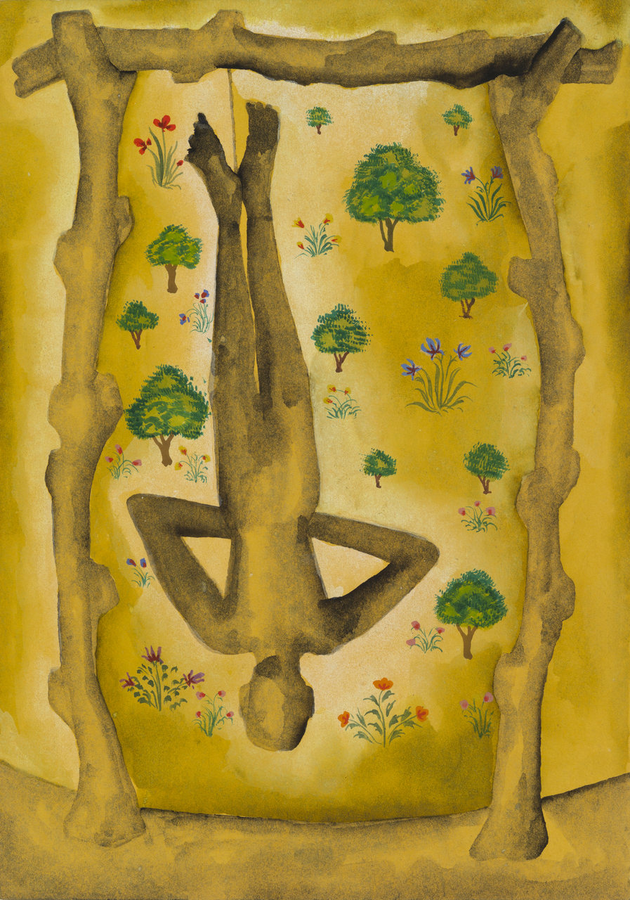 Francesco Clemente, Emblems of Transformation 18, 2014, Image courtesy the artist and BlainSouthern
