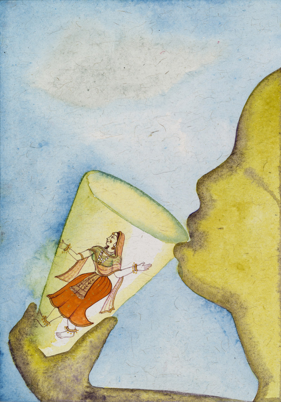 Francesco Clemente, Emblems of Transformation 64, 2014, Image courtesy the artist and BlainSouthern