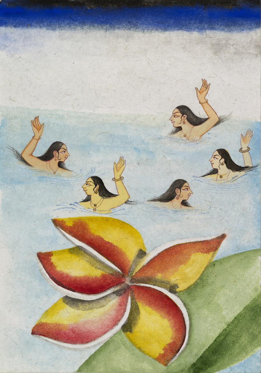 Francesco Clemente, Emblems of Transformation 8, 2014, Image courtesy the artist and BlainSouthern