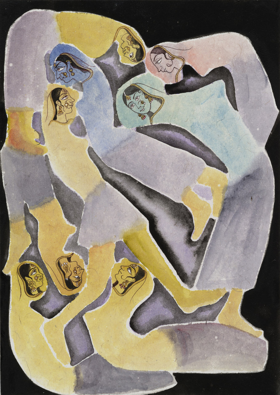 Francesco Clemente, Emblems of Transformation 98, 2014, Image courtesy the artist and BlainSouthern