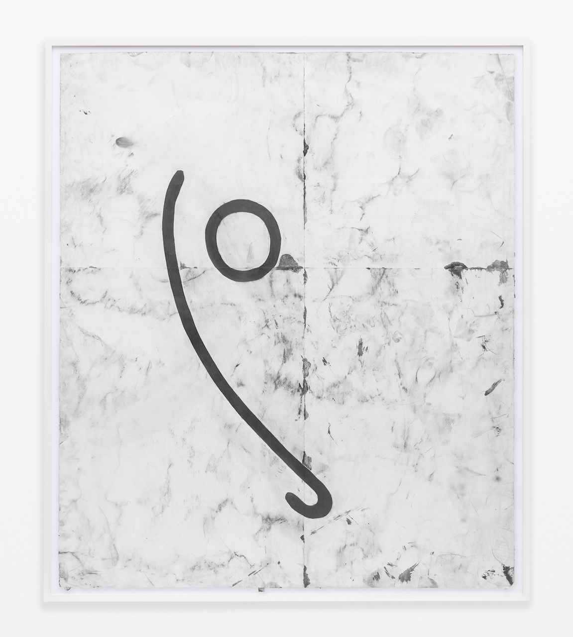 15.Lewis_Automatic, 2015_Pencil, graphite powder, and tape on paper_83.75x71.5 inches