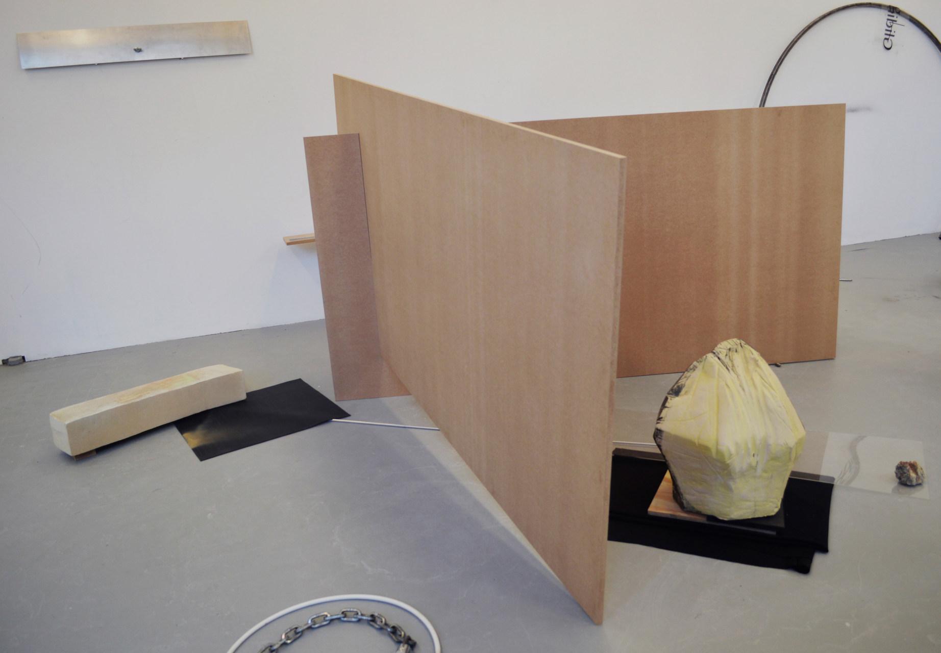 Ruta Butkute - studio visit at Rijksakademie