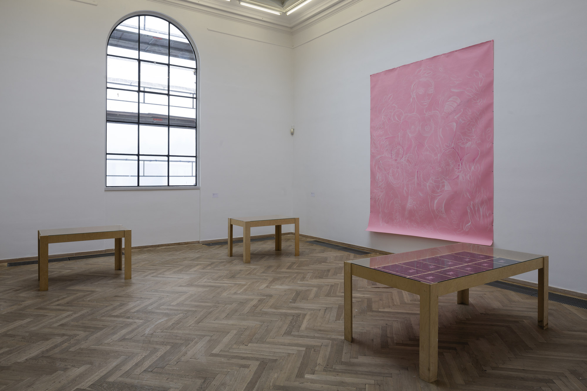 Ellen Cantor. installationview. credit Torben Eskerod